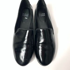 Eileen Fisher Shoes - Eileen Fisher Hidden Wedge Flats Patent Leather